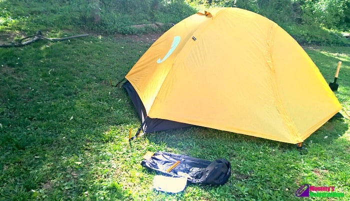 tribe provisions adventure tent II with rain fly