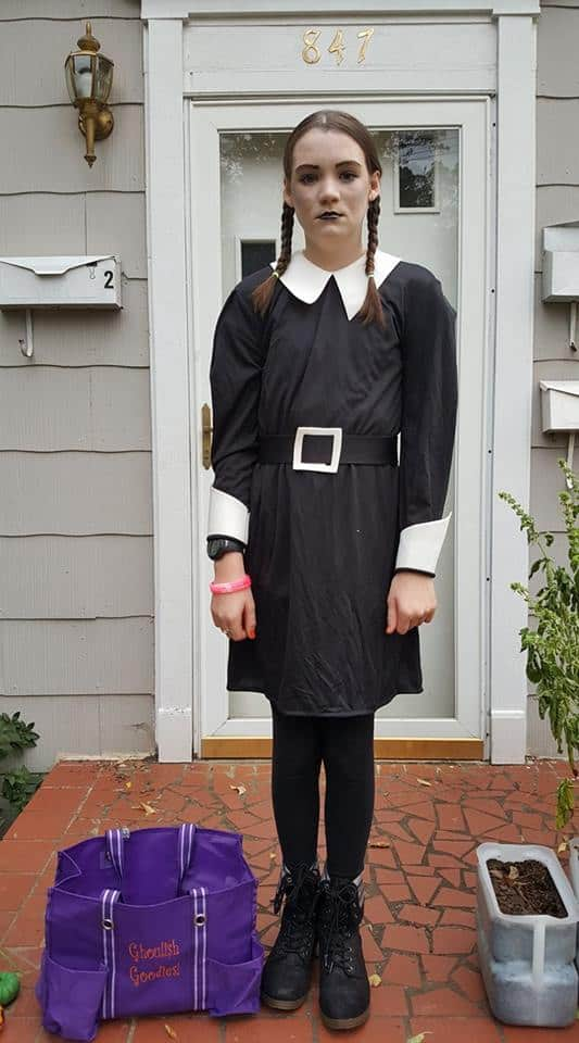 Wednesday Addams from HalloweenCostumes.com