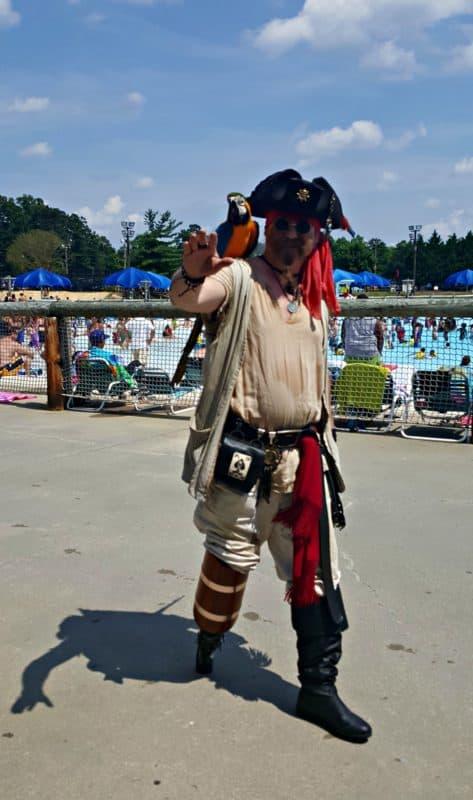 wet n wild emerald pointe one legged pirate