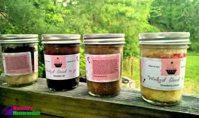 wicked good cupakes in jars
