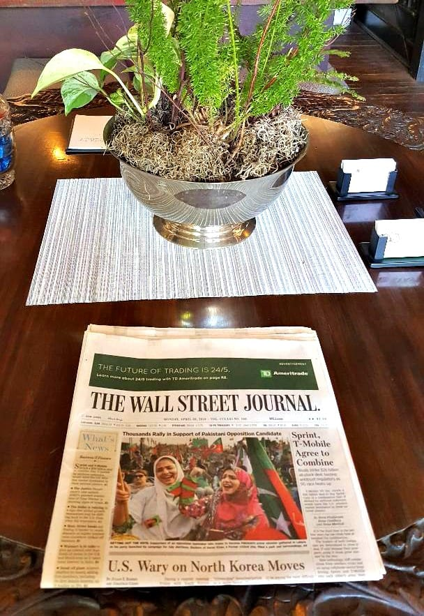 windsor boutique hotel wall stree journal