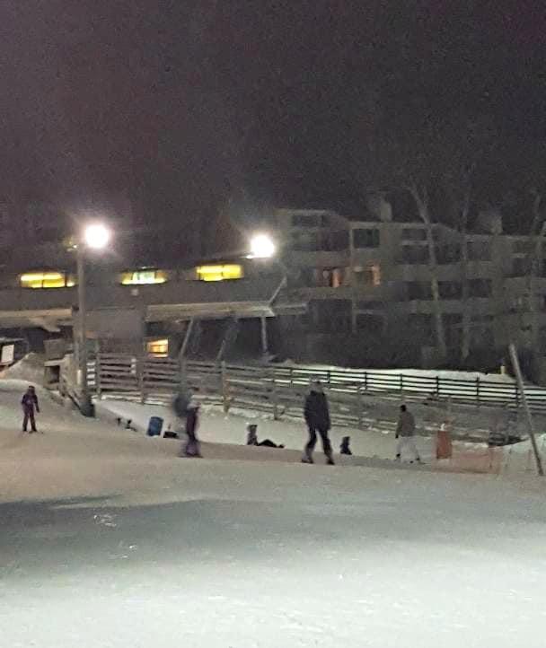 wintergreen night skiing