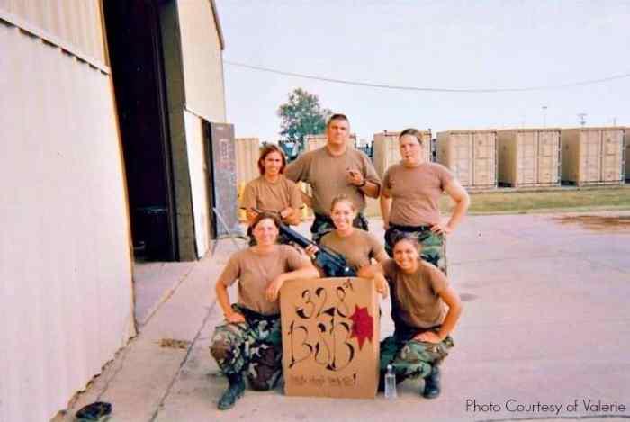 women in the military valerie