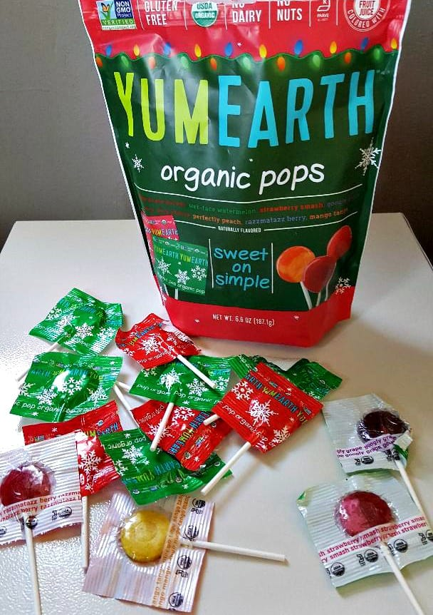 yumearth lollipops