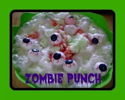 Zombie Punch #Halloween