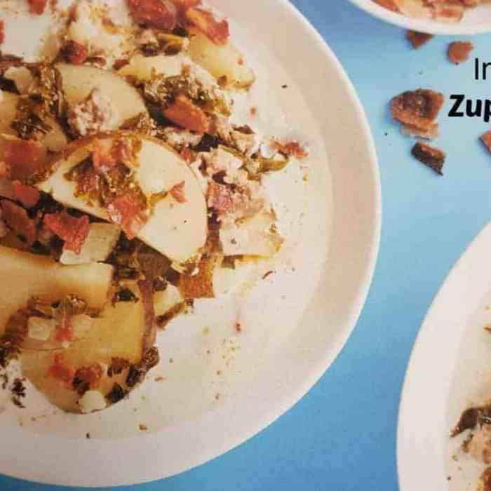 Instant Pot Zuppa Toscana Copycat Olive Garden