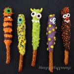 chocolate-carame-pretzel-monsters