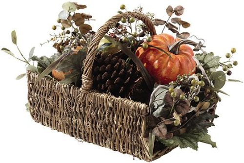 Fall Arrangement in Basket