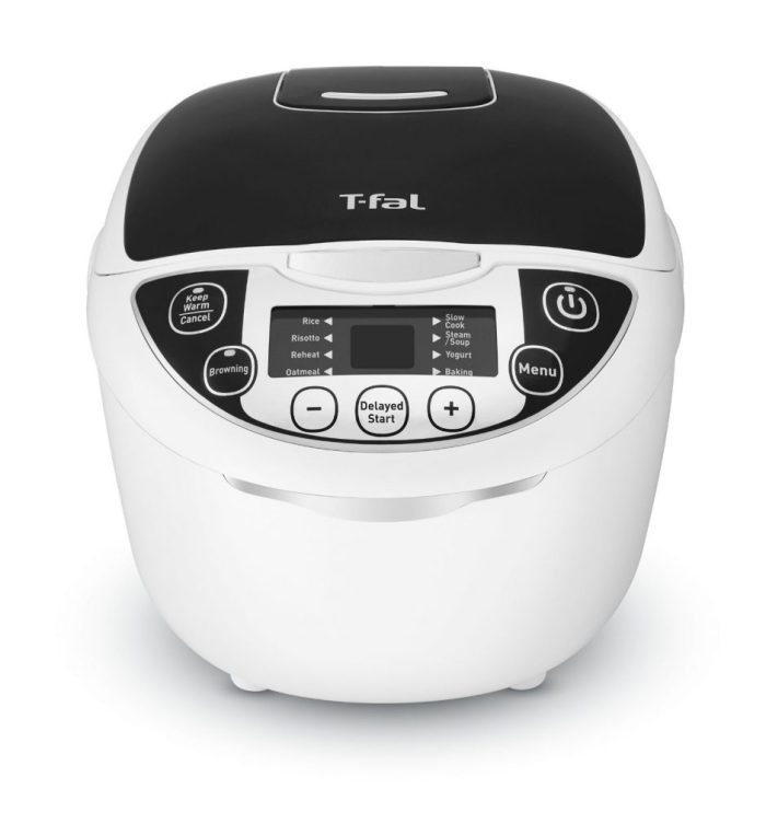 T-Fal Multi Cooker is my bestie for quick Apple Cinnamon Oatmeal in the morning!