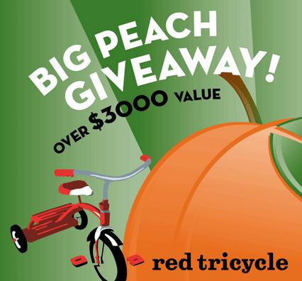 Red Tricycle Atlanta Big Peach Giveaway