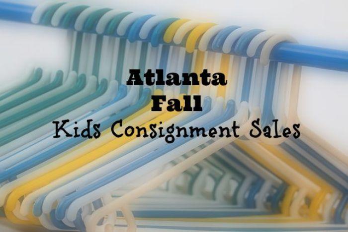 Atlanta Fall Kids Consignment Sales