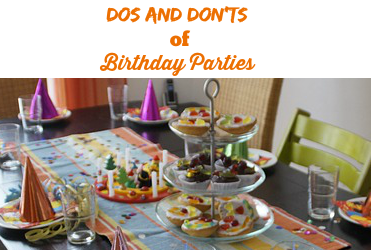 (VIDEO) Dos and Dont's of Birthday Parties