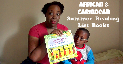 [VIDEO] We Chose African and Caribbean Summer Reading List Books #GASummerRead