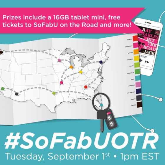RSVP for the #SoFabUOTR Twitter Party 9/1 AD