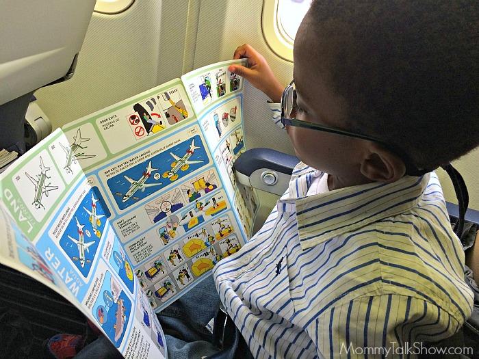 A.J. Reading Flight Info