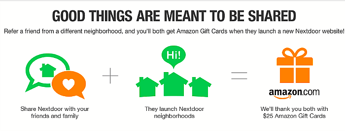 Nextdoor Neighborhood Referral