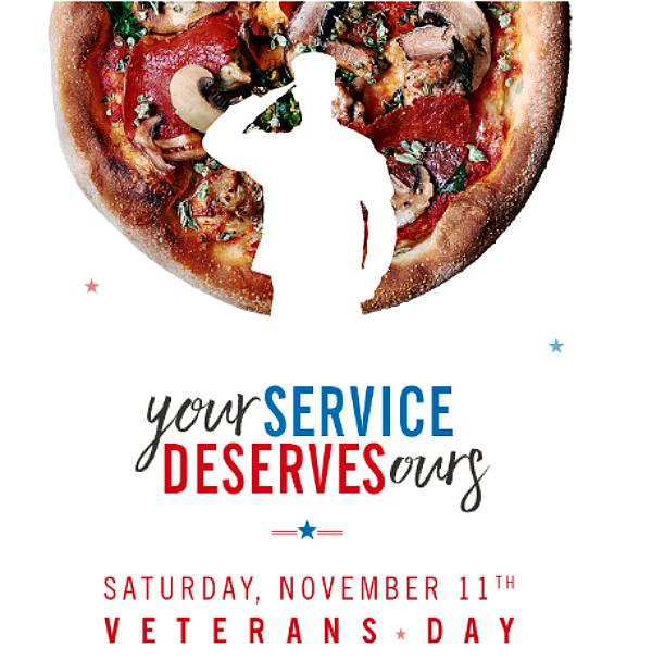 California Pizza Kitchen Veteran S Day