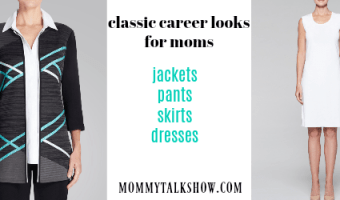 3 Classic Career Looks for Working Moms #AD