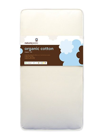 Naturepedic No Compromise Organic Cotton Classic Crib Mattress