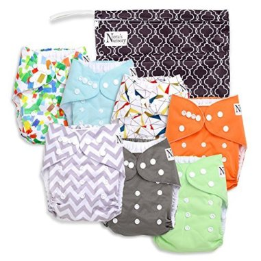 Nora's Nursery Baby Cloth Pocket Diapers