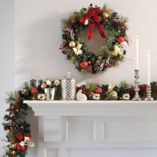 Image result for christmas roping ideas
