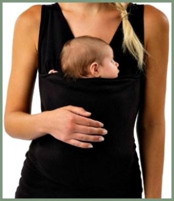 baby wearing tank top