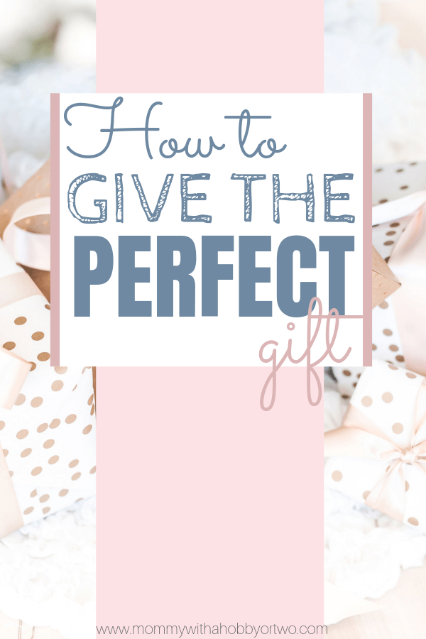 With the holidays in full swing, it's easy to get overwhelmed. Learn the secret to giving the most thoughtful, perfect gift to your loved ones.