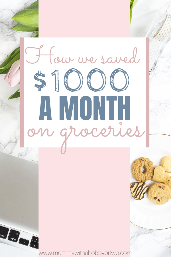 We were spending $1200-$1500 on groceries and eating out but now, we spend about $500-$600 a month for our family of four. This is how we saved thousands of dollars on groceries.