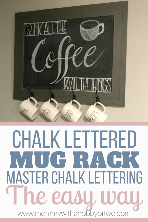 Handlettering with chalk is simpler with this one trick.
