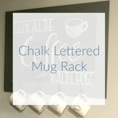 "Have you ever looked at a beautiful chalkboard and thought ""I wish I had handwriting like that!""? Well, there is a little trick that makes designing your next chalkboard easy peasy!! Check out this quick and EASY tutorial for making your own chalk transfer!"
