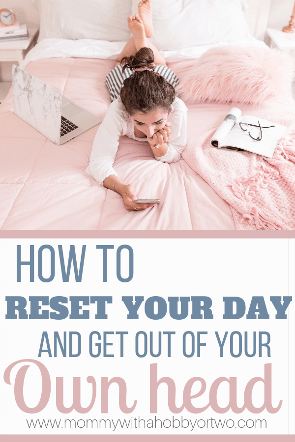Today was one of those days. I needed a RESET! So I put together my top three ways for you to reset your head when you find yourself in a funk too!