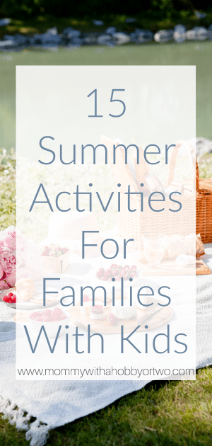 Summer is fun and exciting, but as parents, it's tough to keep up with the kids and even tougher to make sure they're entertained with summer activities.