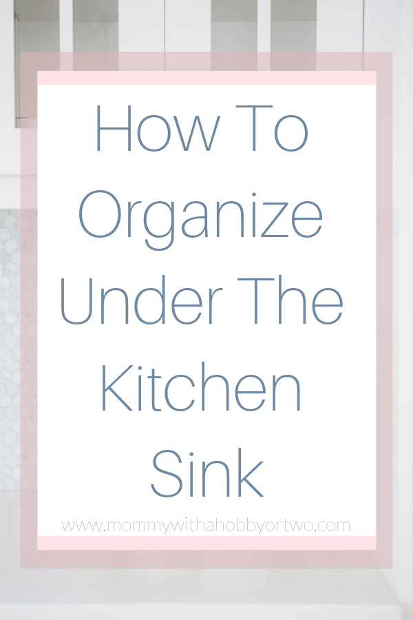 I am so excited to share with you today how I was able to work around the obstacles and create a functional, organized space under your kitchen sink.