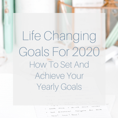 Making New Year's Resolutions have always seemed silly to me. I believe it's much more effective if you set goals. Check out how I'll achieve my own goals!