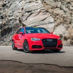 Tango Red Audi S3 Sedan Momo Revenge Wheels In Gunmetal Momo