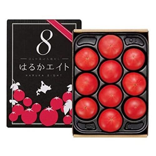 Japanese Haruka Eight Tomato Gift Box 1kg square