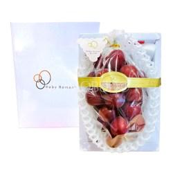 Japanese Ruby Roman Grapes Gift Box 600g (Tokushu Grade)