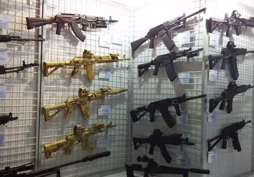 Assault weapons, credit Morguefile