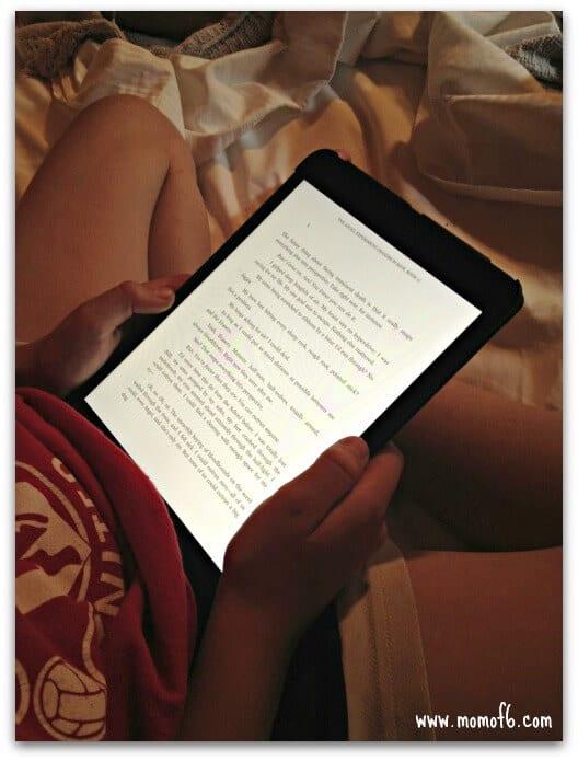 Avoiding Summer Slide- Kindle