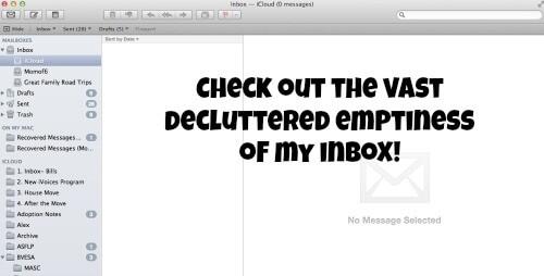 empty inbox