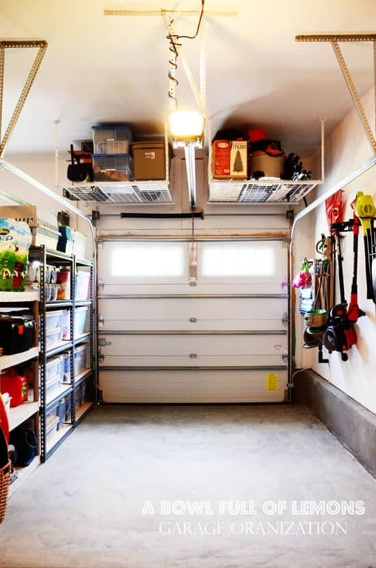 12 Organized Garage Ideas! - MomOf6 on Organized Garage  id=49141