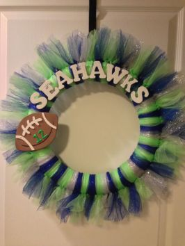 Seahawks wreath 3