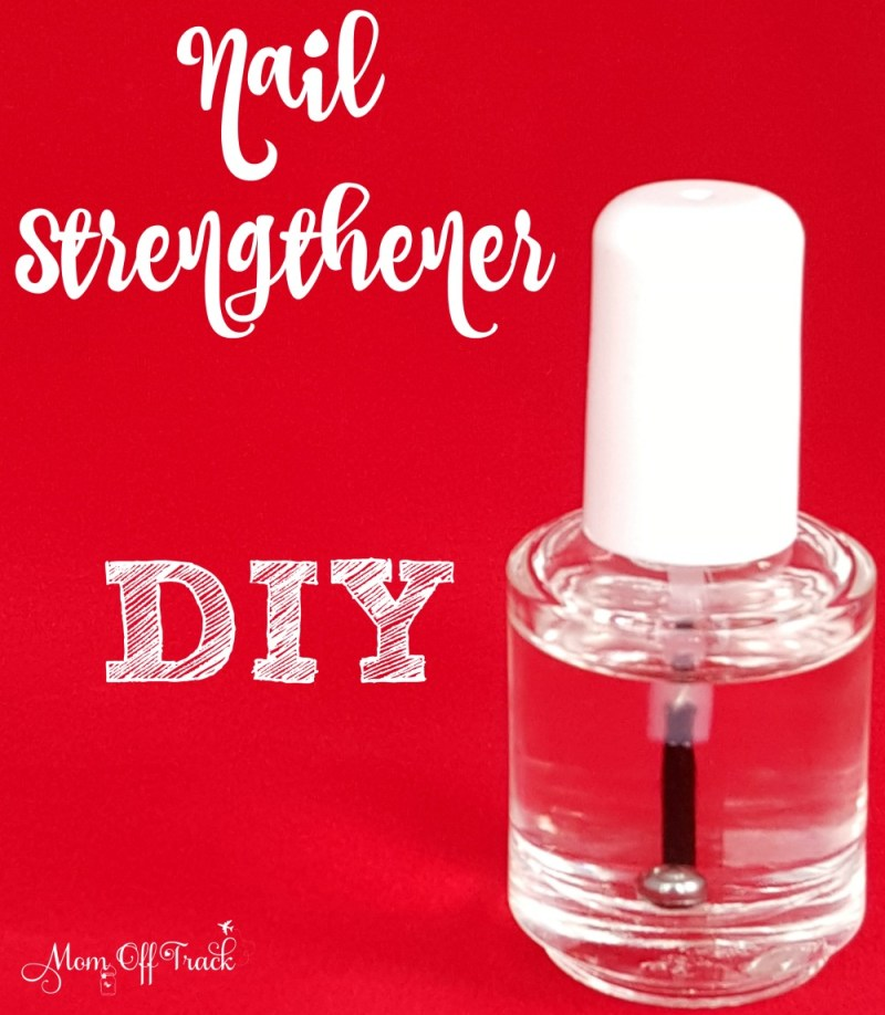 Diy nail strengthener coconut oil poemsrom this diy nail strengthener with essential oils is easy to make and works great on nails solutioingenieria Choice Image