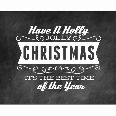 Have a Holly Jolly Christmas FREE Word Art {Mom of Many}