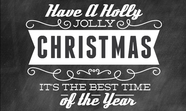Have a Holly Jolly Christmas – Free Word Art