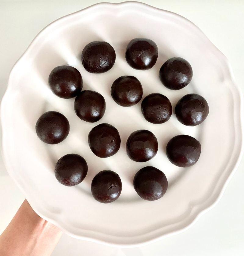 chocolate caramel candies recipe