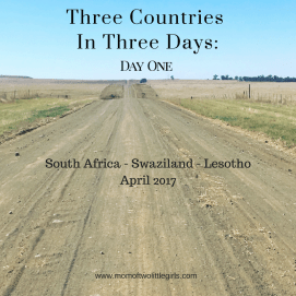 The first of our #3countriesin3days motorbike tour.