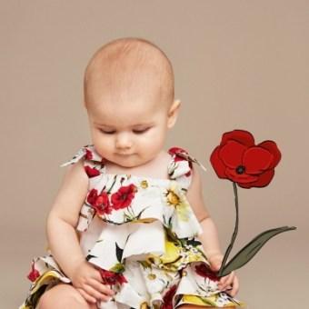 Blog de Moda Infantil, Momolo, Vestidos para ninas, Dolce and Gabbana