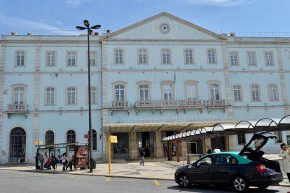 リスボンのサンタアポローニャ駅
