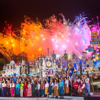 It's A Small World 50th Anniversary Celebration #SmallWorld50 #Disneyland